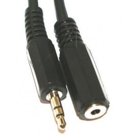 3,5mm jack stereo audiokabel han-hun