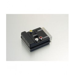 Adapter Scart / S-VHS/ RCA samle boks