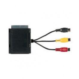 Scart adapter med AV-udgang