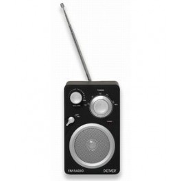 FM radio m/line-in t/ Ipod, MP3 m.m.