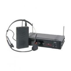 Trådløst mikrofonsæt headset 864.0MHz qtx 171.338u