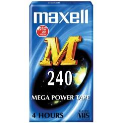Videobånd VHS 240 min.