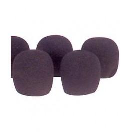 Mikrofonvindhættesæt - sort - 35mm