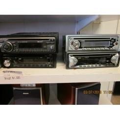 Diverse bil-radioer