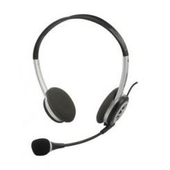 Headset med volumekontrol