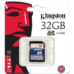 Kingston SD Kort 32GB
