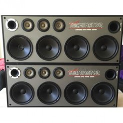 terminator eltax 4 woofer high power system speakers