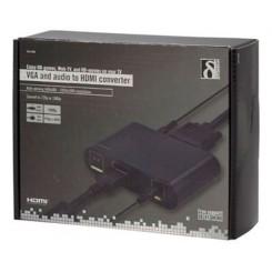 Deltaco VGA HDMI Adaptor