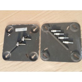 Beovox Wall Mount Bracket Adjustable Fixings Pair Type 6014 Black S45-2 S50 S55
