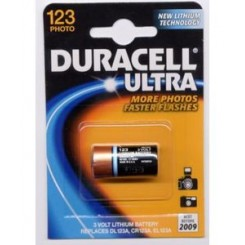 Duracell Ultra 123A