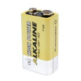 High Power 9 Volt batteri