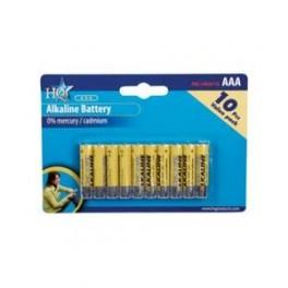 HQ AAA alkaline batterier - 10pak