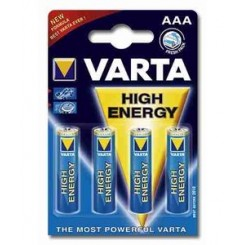 Varta High Energy AAA batterier