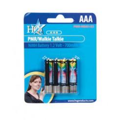 Genopladelige batterier til Walkie-talkie