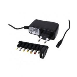 5 volt adapter 2,5A m/ div. stik