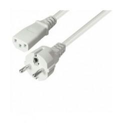 EDB apparat ledning 5.0m - hvid