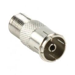 F-stik til coax adapter
