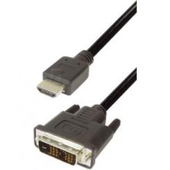 HDMI - DVI kabel
