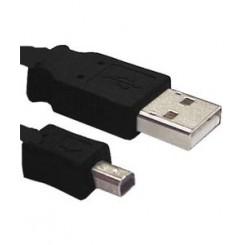 KABEL USB TIL MINI-USB 4P MITSUMI