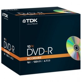TDK DVD+R x1