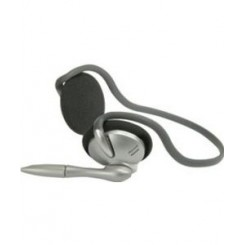 Multimedie headset med mikrofon