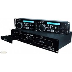 DJ-TECH Dobbelt DJ CD Afspiller CDX-110