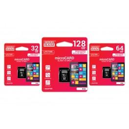 MicroSD Kort GoodRam Med Adapter Class 10