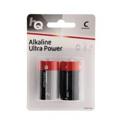 HQ Alkaline C Batterier