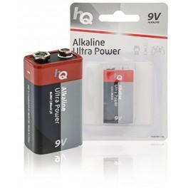 HQ Alkaline 9V Batterier