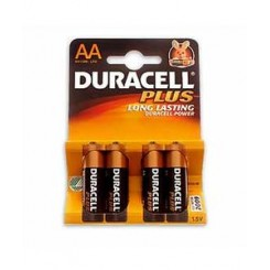 Duracell Plus AA batterier