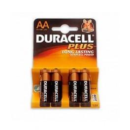 Duracell Plus AA batterier